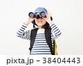 ハイキング 子供 女の子の写真 38404443