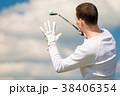 GOLF ゴルフ 棍棒の写真 38406354