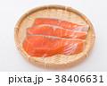 切り身 鮭 しゃけの写真 38406631