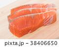切り身 鮭 しゃけの写真 38406650