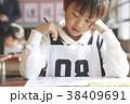 お受験の試験会場 38409691