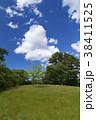 青空 雲 緑の写真 38411525