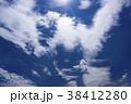 青空 晴れ 白い雲の写真 38412280