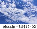 青空 空 白い雲の写真 38412402