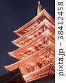 浅草 浅草寺 五重の塔の写真 38412458