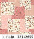 花 花柄 ペイズリーのイラスト 38412655