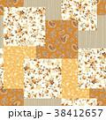 花 花柄 ペイズリーのイラスト 38412657
