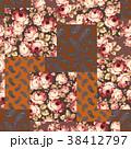 花 花柄 ペイズリーのイラスト 38412797