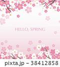 花 桜 春のイラスト 38412858