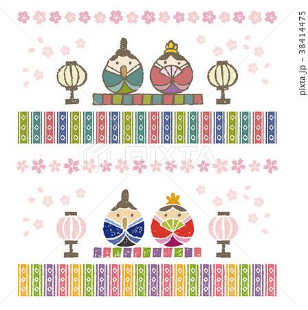 お雛様 ひな祭り 38414475