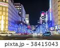 夜景 大津通 名古屋の写真 38415043