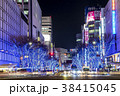 夜景 大津通 名古屋の写真 38415045
