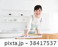 キッチン 台所 女性の写真 38417537