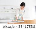 キッチン 台所 女性の写真 38417538