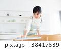 キッチン 台所 女性の写真 38417539