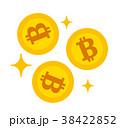 ビットコインキラキラ 38422852