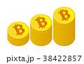 ビットコイン積み上げる 38422857