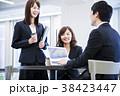 会議 ビジネス ビジネスマンの写真 38423447