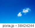 青空 雲 空の写真 38424244