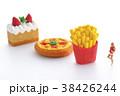 ダイエット 肥満 食事制限の写真 38426244