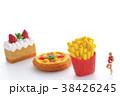 ダイエット 肥満 食事制限の写真 38426245