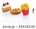 ダイエット 肥満 食事制限の写真 38426246
