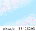 背景 青空 春のイラスト 38426293