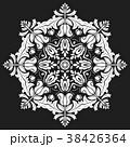 デコラティブ 装飾的 飾りのイラスト 38426364