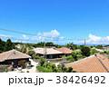 晴れ 町 集落の写真 38426492