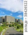 街並み 建物 マンションの写真 38426522