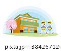 子供 幼稚園 園児のイラスト 38426712