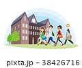 大学の友達のイラスト 38426716