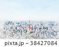 東京都 街 都会のイラスト 38427084