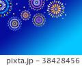 花火 打ち上げ花火 夏祭りのイラスト 38428456