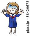 中学生 ベクター 人物のイラスト 38429678