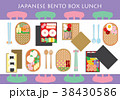 Japanese Bento Box Lunch Background 38430586