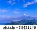 富士山 駿河湾 山の写真 38431149