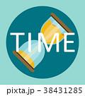 すなどけい 砂時計 時間のイラスト 38431285