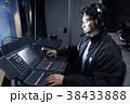 スタジオ 音響 音楽 音響技師 ミキサー 劇場 裏方 38433888