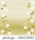 背景 和柄 桜のイラスト 38433893