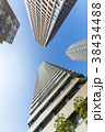 タワーマンション 青空 高層マンションの写真 38434488