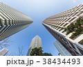 タワーマンション 青空 高層マンションの写真 38434493