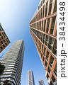 タワーマンション 青空 高層マンションの写真 38434498