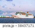 豪華客船 船 出港の写真 38437171