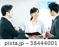 ビジネス オフィス ビジネスマンの写真 38444001