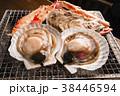 帆立 貝 蟹の写真 38446594