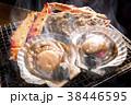 ホタテ 焼き物 炭焼きの写真 38446595