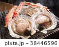 ホタテ 焼き物 炭焼きの写真 38446596