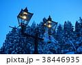 銀山温泉のガス灯 38446935