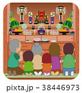 沖縄 旧盆 イメージのイラスト 38446973